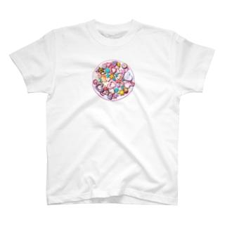 昼下がりのティータイム T-shirts