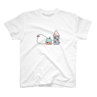 Stay home 文鳥 T-shirts