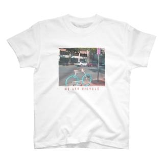 チャリンコ T-shirts