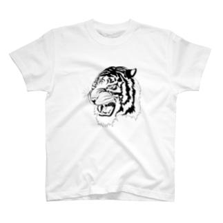 svg tiger  T-shirts