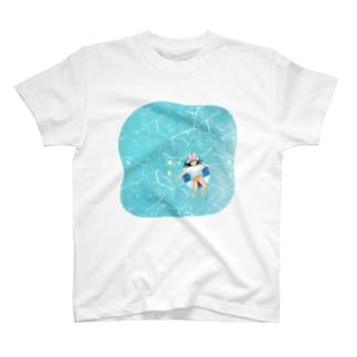 サマーホリデーぷかぷかだな T-shirts