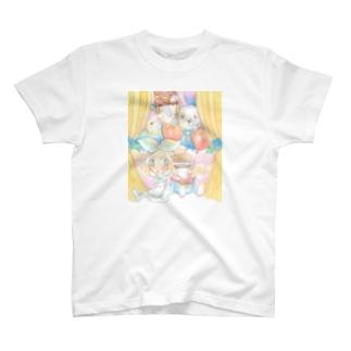 ワンダーランドへの幕開け T-shirts