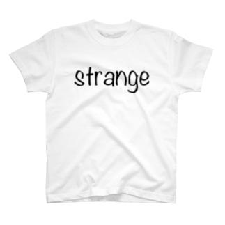 strange world's end strange01Tシャツ(淡色) T-shirts