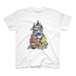 私のお城 T-shirts