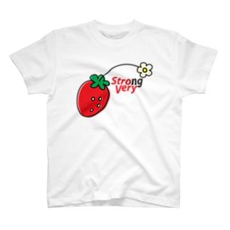 ストロ・ベリー T-shirts