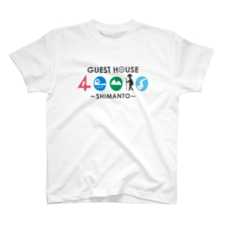 40010オリジナル 前面 T-shirts