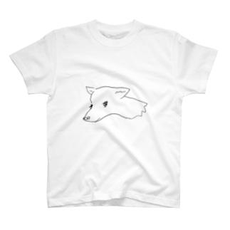 ほごいぬはかわいいよ T-shirts