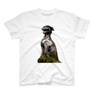 大口真神 T-shirts
