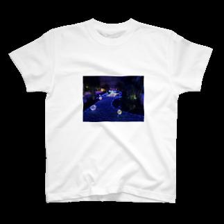 イヌコロ屋@satsukiのイルミネーション T-shirts