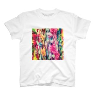 アートヤーン T-shirts