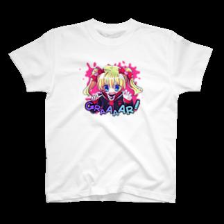 いちご爆弾のモウジュウ系女子(ぱんきっしゅ) T-shirts