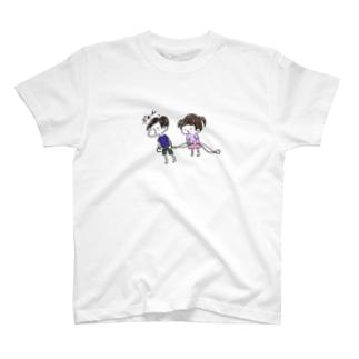 つぎ とまりまーす T-shirts