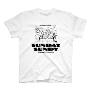 SUNDAY SUNDY No.1 T-shirts