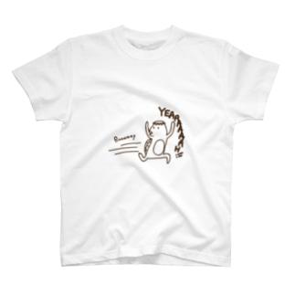 ランナウェイ -カッパ- T-shirts