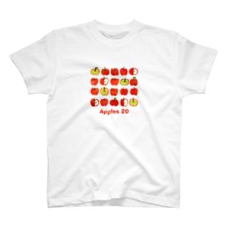 Apples 20 T-shirts