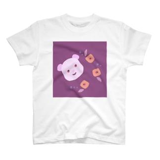 くまと椿 T-shirts