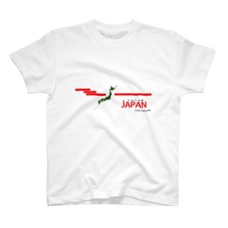日出ずる国、JAPAN T-shirts