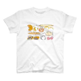 コーギーパン(横長) T-shirts