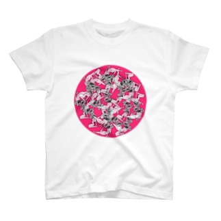 CHAOS HEAD GRAVURE T-shirts