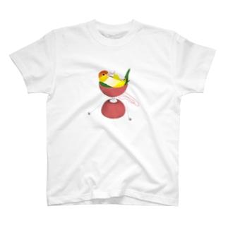 シロハラonディア C T-shirts