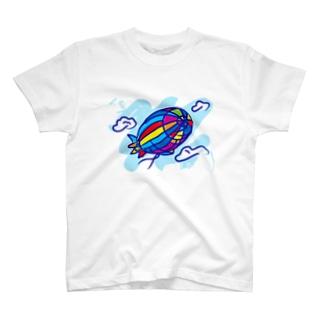 Airship_Journey T-shirts