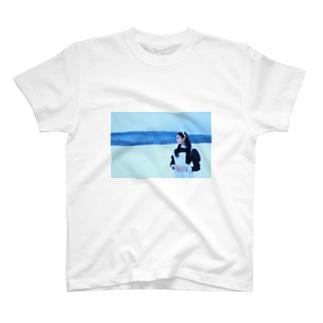 上条なずなのメイド02 T-shirts
