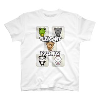 Pleasant_Friends T-shirts