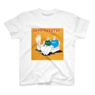 "shinri murakami "" HOME THEATER ""  T-shirts"