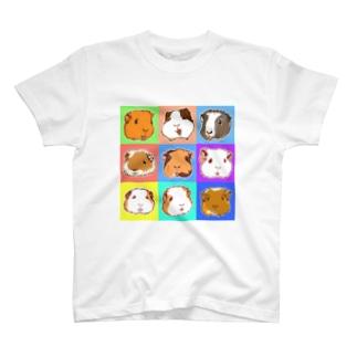 SMILE!モルモット大集合! T-Shirt