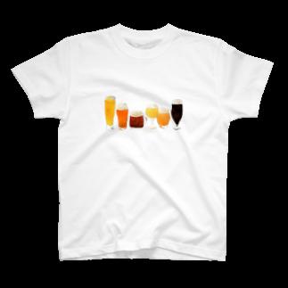 Hitomi-InoueのBeer! T-shirts