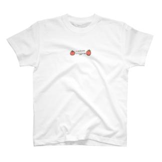 ソーシャルディスタンストマト T-shirts