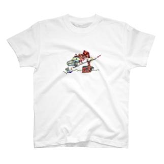 煙突から侵入失敗 T-shirts