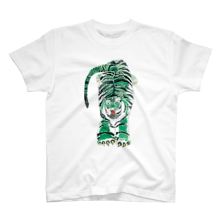 【アクリル画】 みどりとら T-shirts