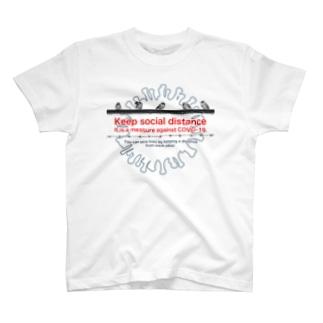 東京すずめ(ソーシャルディスタンス) T-shirts