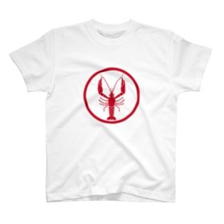 ザリガニ家紋 T-shirts