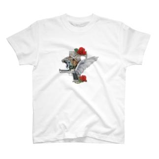 GUN & ROSE BIG EMBLEM  T-shirts