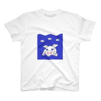 深海探査ロボ『ピッグボール海(かい)』 T-shirts