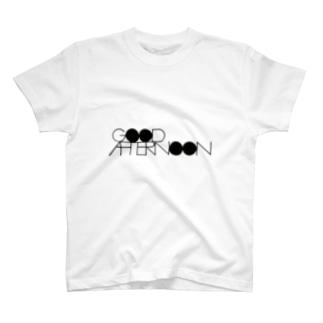 LOGO_ALBUMのGOOD AFTERNOON T-Shirt