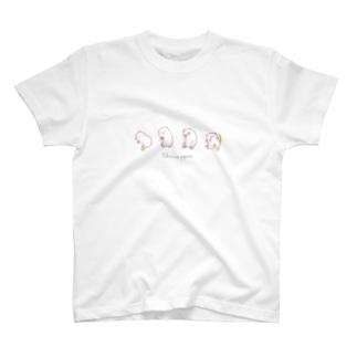 ポップコーンジャンプモルモットver.2 T-shirts