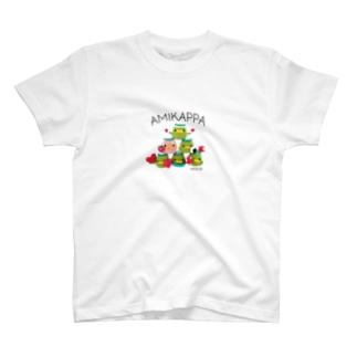 AMIKAPPA ピラミッド T-shirts