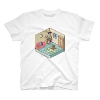 小さな部屋 T-shirts