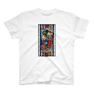 ステンドグラス「ノリ・メ・タンゲレ」 T-shirts
