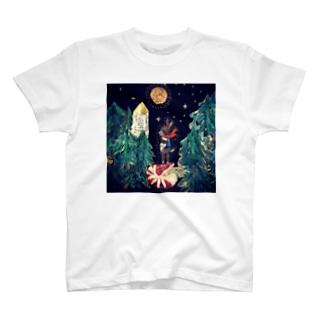 岬森のうさぎ T-shirts
