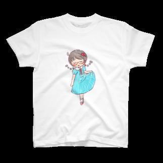 Reりすのストライプワンピース T-shirts