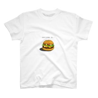 チーズバーガー T-shirts