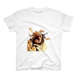 SMOKY CAT T-shirts