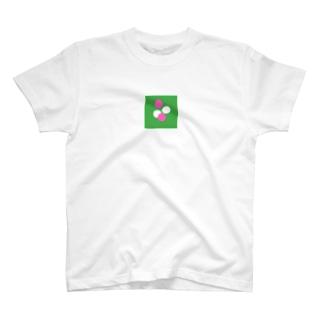 ガチャガチャ(緑、白、ピンク) T-shirts