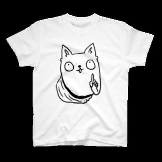 @nyacochin_のネコチャン T-shirts