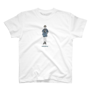 yumeのcadet blue T-shirts