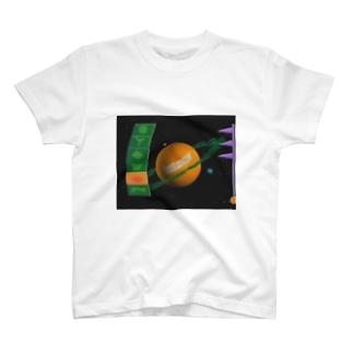 𝐕𝐨𝐤𝐞𝐬の【Vokes】土星 T-shirts